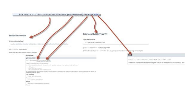 File scrFile = ((TakesScreenshot)myTestDriver).getScreenshotAs(OutputType.FILE);