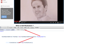 youtube flash player automation using selenium Webdriver